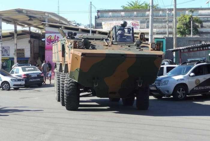 Militares estão em três regiões da Zona Norte desde esta segunda