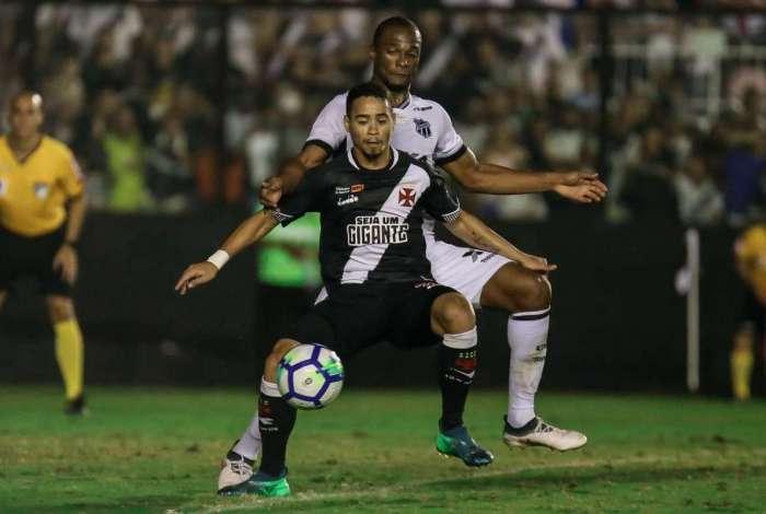 94759cf8c4 Vasco empatou com o Ceará em São Januário