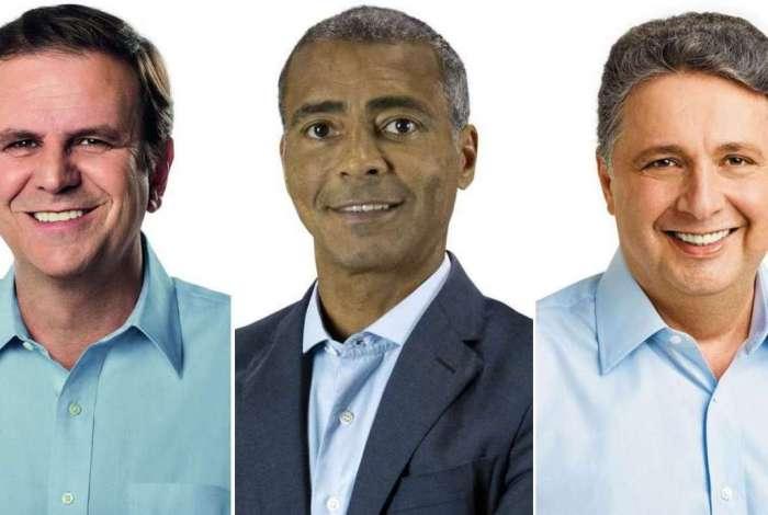 Datafolha: Paes aparece em primeiro, e Romário e Garotinho estão tecnicamente empatados em segundo