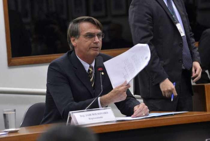 Jair Bolsonaro, candidato pelo PSL