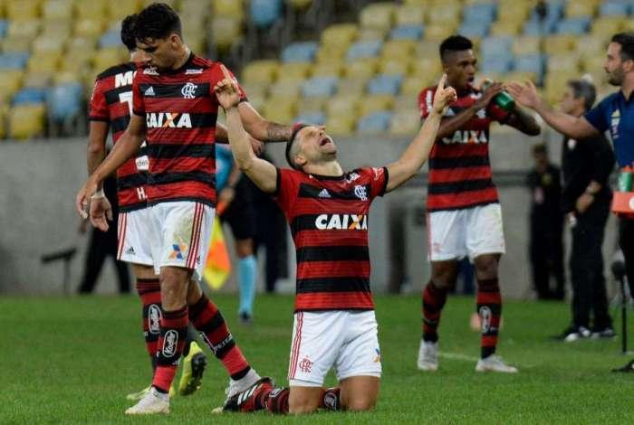 Flamengo derrotou o Vitória por 1 a 0