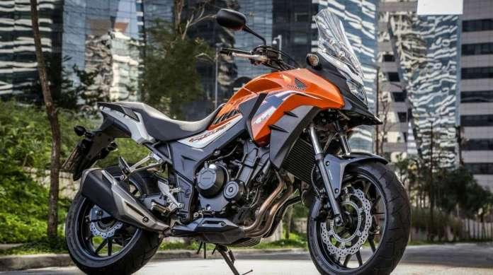 Honda lan�a modelos 500 cc da linha 2019 com nova op��o de cor