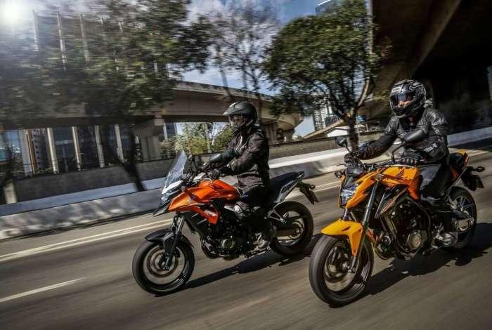Honda lança modelos 500 cc da linha 2019 com nova opção de cor