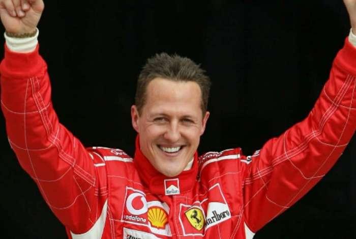 Mostra relembra a trajetória de Michael Schumacher na escuderia