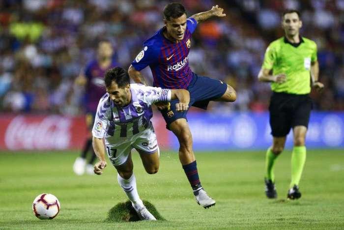 Jogadores reclamam de estado de gramado de Estádio Municipal José Zorrilla, na Espanha