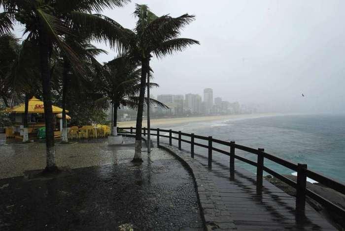 Frente fria muda o tempo no Rio