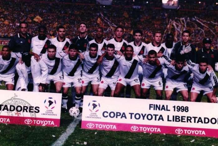 Time do Vasco na 'Reconquista da América', a Libertadores de 1998