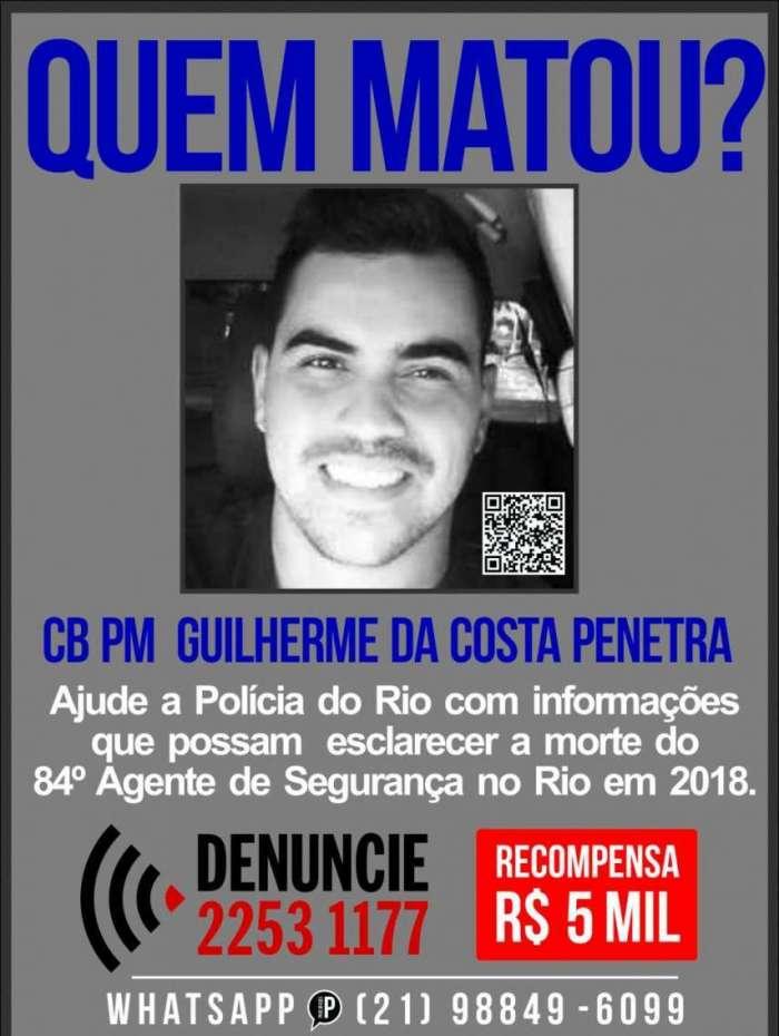 Guilherme da Costa Penetra, de 32 anos