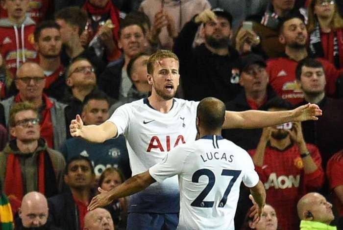 Tottenham venceu a Juventus com um golaço de Harry Kane nos acréscimos Oli SCARFF / AFP