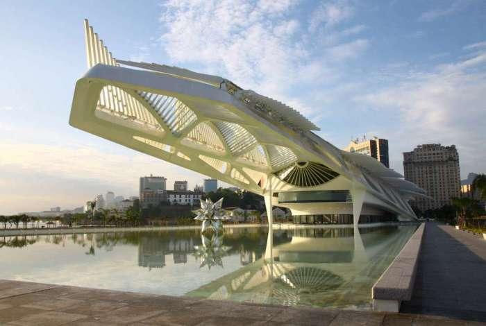 O Museu do Amanhã foi inaugurado em dezembro de 2015 com a presença da então presidente Dilma Rousseff