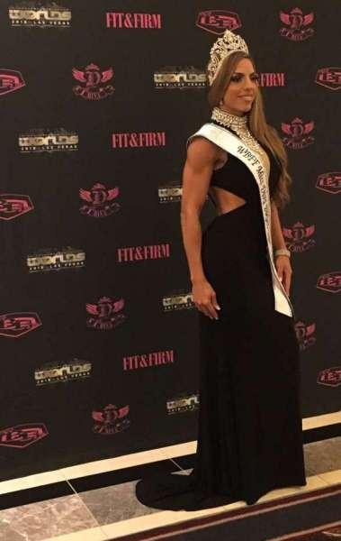 Luciane Serifovic tirou segundo lugar em duas categorias no 'World Las Vegas 2018'