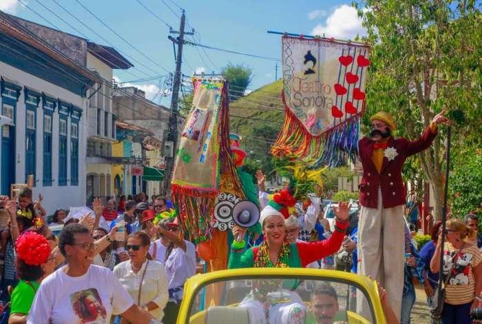 Conservatória terá a primeira edição da Mostra Sonora, com teatro, música e até carnaval fora de época