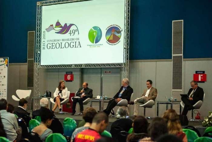 Participantes do Congresso Brasileiro de Geologia elabora Carta do Rio com propostas para o desenvolvimento do setor de Geociências. Documento será enregue para presidenciáveis