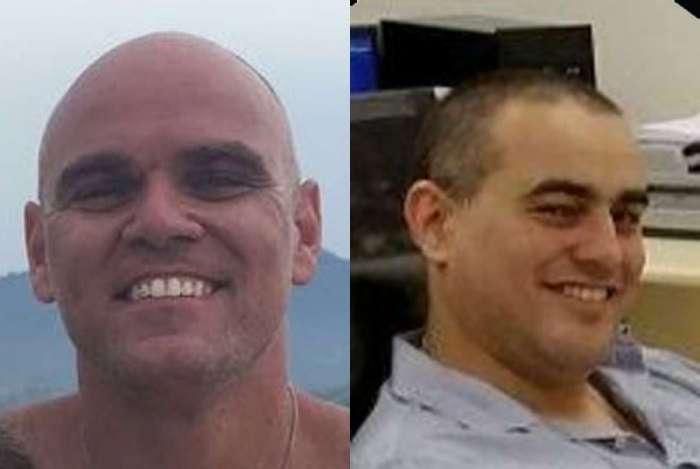 Delegados da Polícia Civil Rodrigo Sebastian Santoro Nunes e Thiago Luis Martins da Silva são alvos de operação