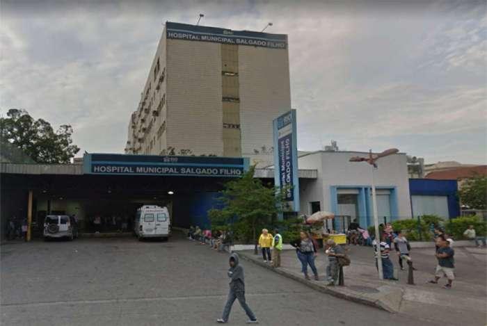 Bebê dá entrada no Hospital Municipal Salgado Filho com traumatismo craniano após ser espancada pelo pai