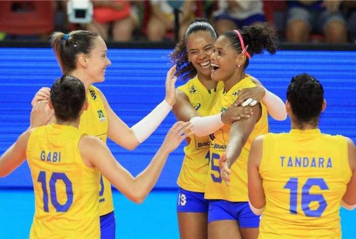 Seleção brasileira feminina de vôlei quer acertar últimos detalhes para o Mundial