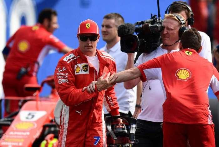 Kimi Raikkonen vai sair da Ferrari