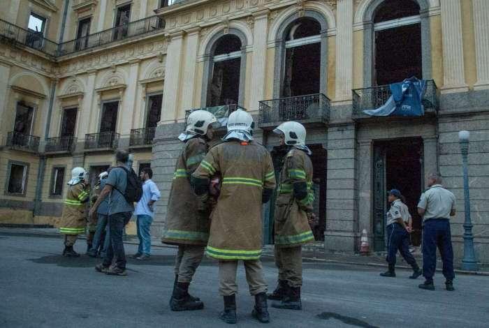 Incêndio no Museu Nacional: Polícia Federal recolheu imagens de câmeras