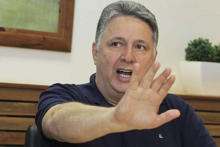 O candidato ao governo do Rio de Janeiro, Anthony Garotinho, visita a sede de O Dia.