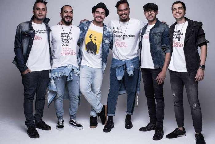 Show do Sorriso Maroto marca a volta de Bruno Cardoso, que estava afastado por motivo de saúde