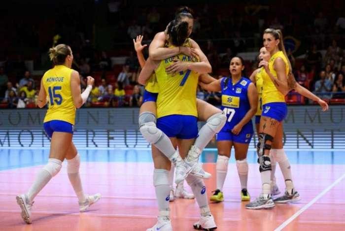 Brasil conseguiu boa vitória no Torneio de Montreux