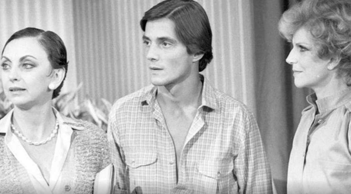Beatriz Segall com Fábio Jr. e Tônia Carrero em 'Água Viva', de 1980