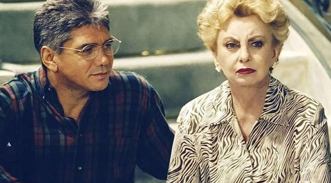 Beatriz Segall e Jackson Antunes em Anjo Mau - 2ª Versão.