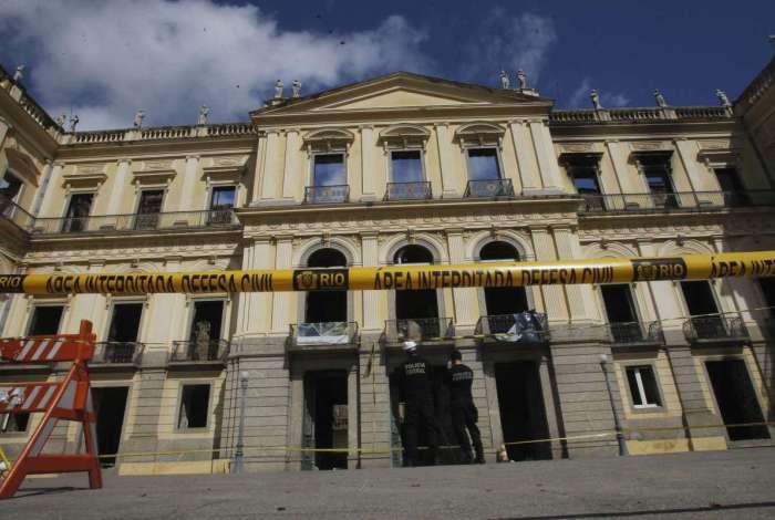 Museu Nacional está interditado por tempo indeterminado