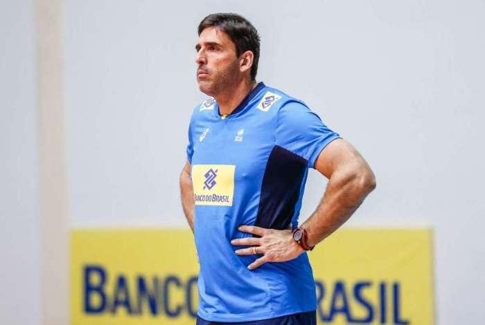 O técnico Giovane Gávio