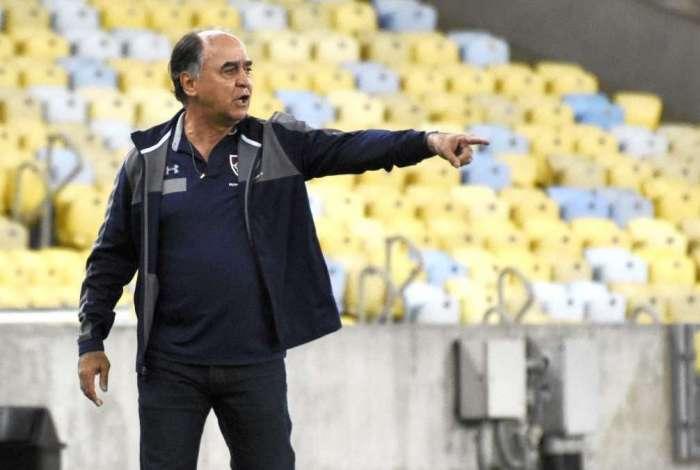 Marcelo Oliveira comemorou a vitória