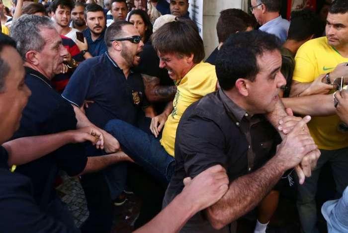 Candidato foi esfaqueado na tarde desta quinta durante campanha em Juiz de Fora (MG)