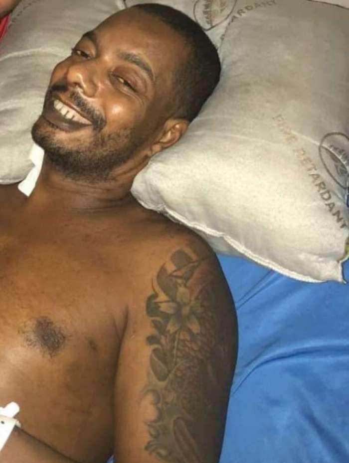MC Naldinho no hospital