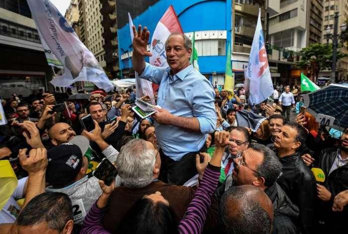 Candidato do PDT, Ciro Gomes