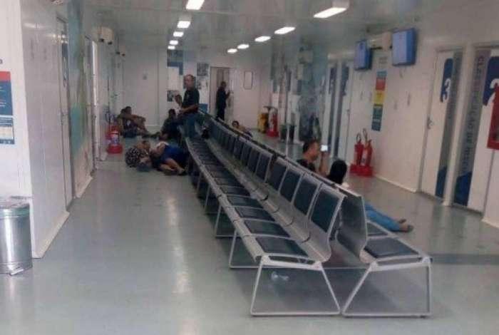 Tiroteio assusta pacientes de UPA em Magalhães Bastos