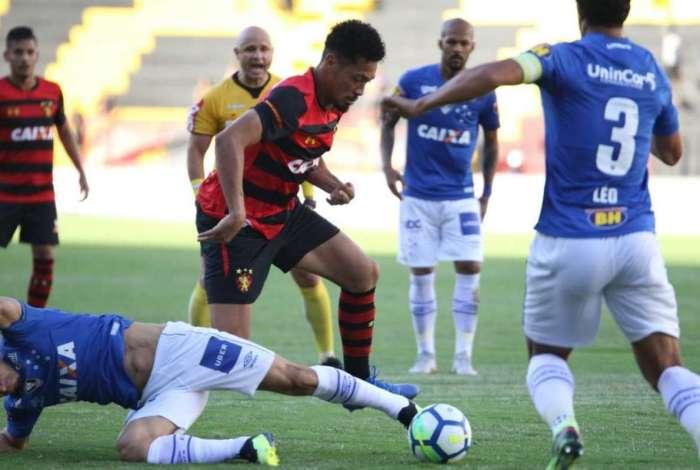 Sport e Cruzeiro ficaram no 0 a 0