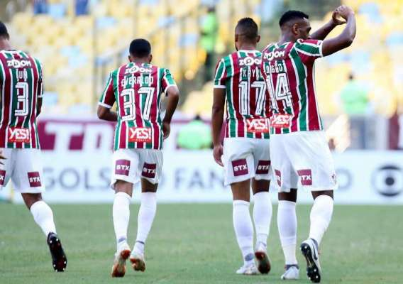 O Fluminense derrotou o Botafogo no Maracanã
