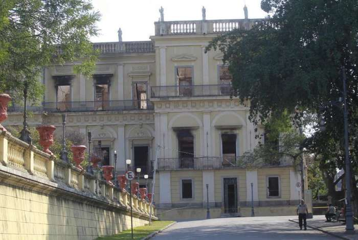 Museu Nacional da Quinta da Boa Vista, em São Cristóvão