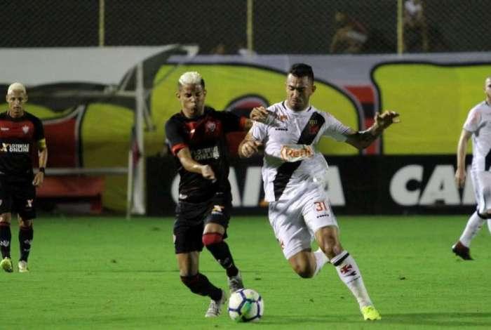 Vasco enfrentou o Vitória no Barradão