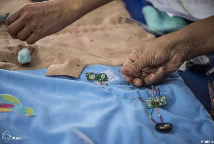 Aulas do 60  Arte&Tecnologia, que misturam artesanato e circuitos eletrônicos, começam 1º de outubro