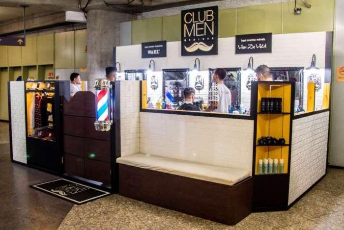 A Club Men Salon abriu a primeira loja na Siqueira Campos e quer inaugurar outras na Central e Carioca