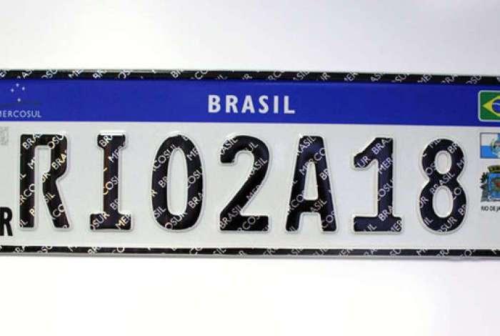 Detran começa a implantar placa Mercosul O Dia - Rio de Janeiro 2ecdeac716061