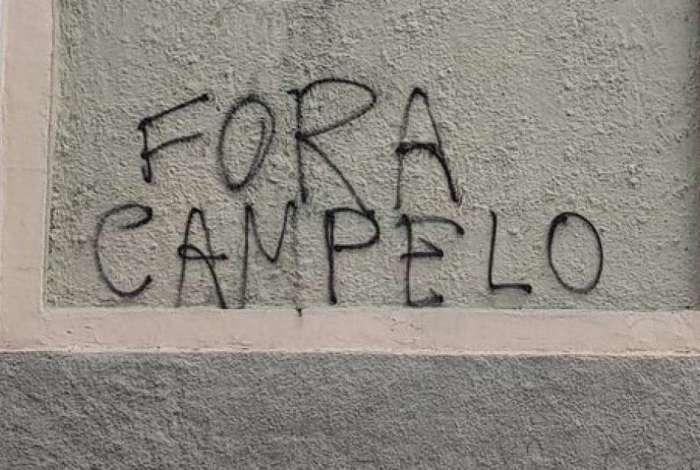 Valentim terá semana cheia para trabalhar. Pichação em muro na Colina pede saída do presidente Campello
