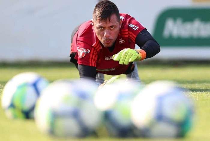 Diego Alves não encara o Palmeiras