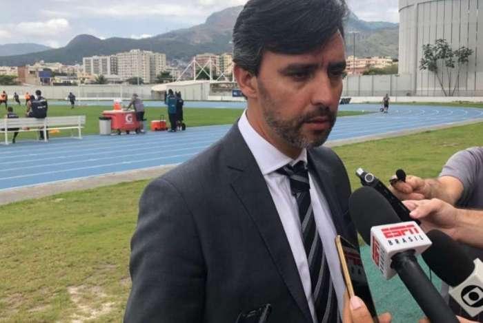 Gustavo Noronha falou sobre o momento do Botafogo