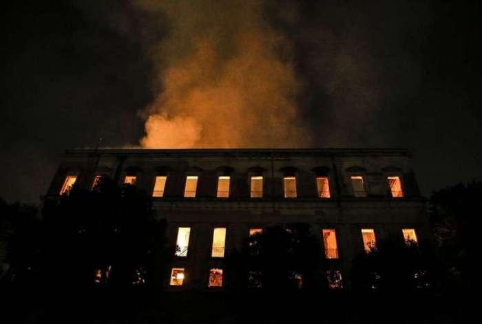 O Museu Nacional foi destruído por incêndio no último dia 2