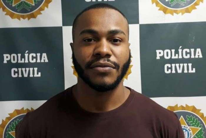 Paulo Henrique Cruz de Paula foi preso pelo crime de feminicídio