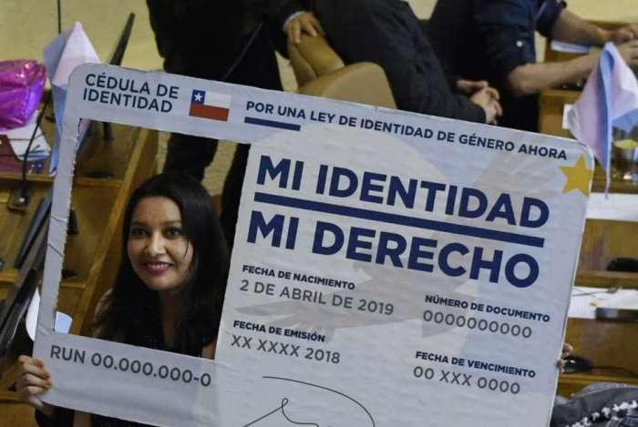 Congresso chileno aprovou Lei de Identidade de Gênero nesta quarta-feira