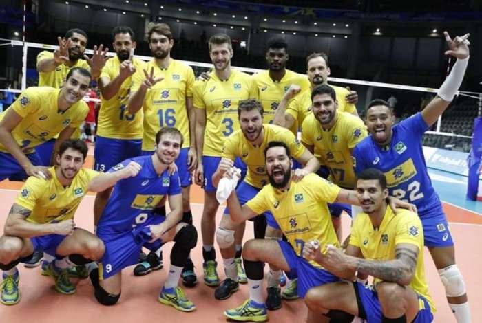 Brasil venceu facilmente o Egito