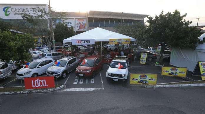 Mega Feirão de Automóveis Invicta no Caxias Shopping. Foto: Daniel Castelo Branco / Agência O Dia