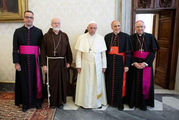 Papa se reuniu nesta quinta-feira com lideranças da Igreja Católica dos Estados Unidos